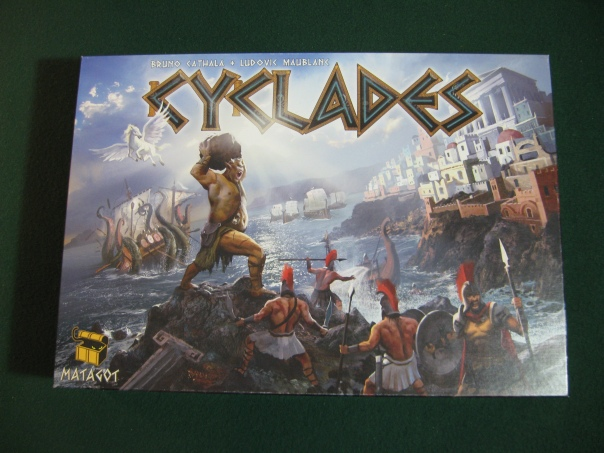 "Especially the hoplite at the bottom-right. ""This... is... CYCLADES!"""