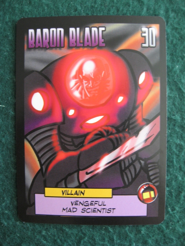 Everyone makes fun of Baron Blade's name, but it's his *actual name*, not something he picked out. Be sensitive.