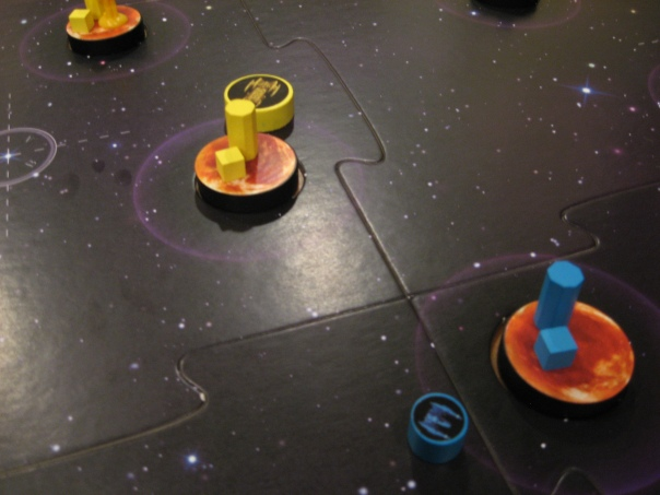 Also, there are three orange planets in a row here. Huh.