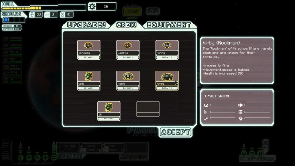 Only the mantis Jill asks what happened to Fontenroses I through XXVII. The ship's computer, voiced by Kevin Spacey, tells her not to worry.