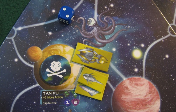 Little do they know, giant space monsters cheat. He'll be getting a free move action next turn!