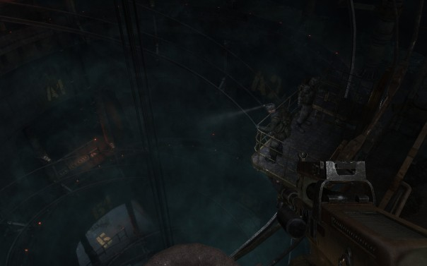 Ulman is apparently afraid of heights.