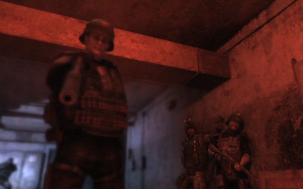 The game does a decent job of establishing that Rangers are badass. It's alluring, and one of the game's trickier deceptions—you shouldn't want to be like these guys, but dang they're cool.