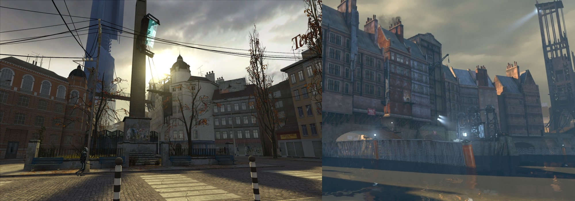 Dishonored a review by comparisons space biff for Half life 2 architecture
