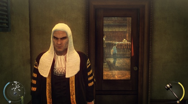 Unfortunately, neither he nor IO Interactive realized that South Dakotan judges don't dress like 18th century courtiers.