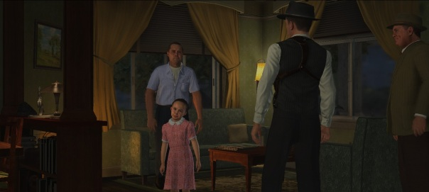 """""""The only crime here is your daughter's face, Mr. Taraldsen."""""""