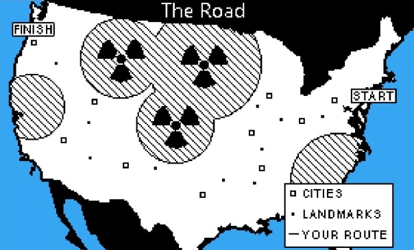 Apparently the military had been nuking zombie hordes, which were mostly clustered in rural areas like Wyoming, the Dakotas, and Colorado — so no loss.