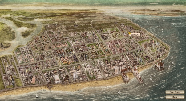 Huh, Atlantic City is about 500% bigger than it seems to be on HBO's Boardwalk Empire.