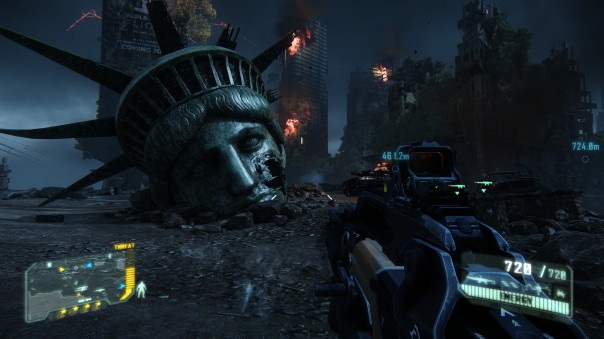 I found this funny, since you also found Lady Liberty's head in Crysis 2, in a totally different location.