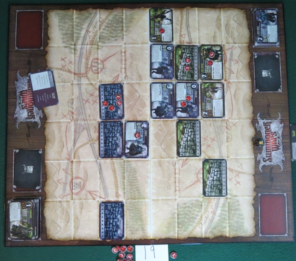 So tense. I'm going to die early thanks to Summoner Wars.