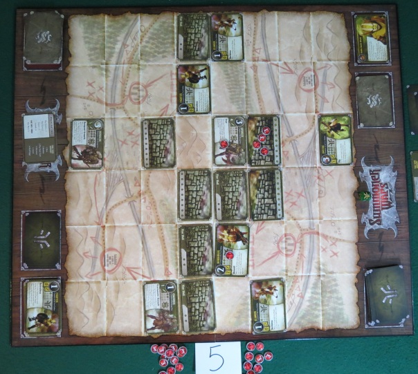 My anti-goblin Great Vine Wall nears completion!