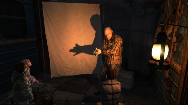 To be fair, I wasn't sure what a couple of his shadow puppets were either.