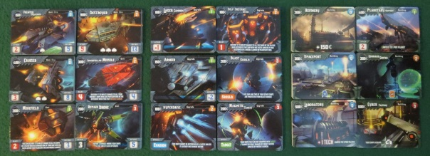 I'm not sure my Magnetic Target + Hyperdrive Fighter Squadron was legal, but boy did it mess up my opponents' plans!