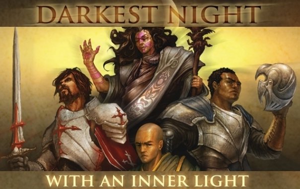 I think the Monk and Paragon have figured out they're in a board game. And they don't like that. Not one bit.