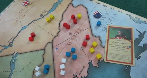 Benedict Arnold halts the American invasion of Nova Scotia.