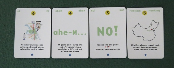 Get it? From the title? Some of the people in my gaming group didn't until our third game. It was a shameful Oh Moment.
