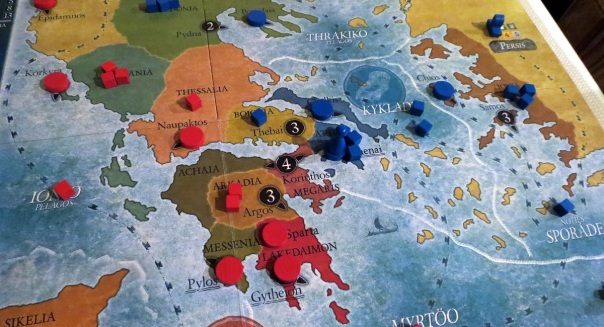 Such a rich period. I'd love to play POLIS 2: THEBES VS MACEDON, or POLIS 3: MACEDON VS EVERYBODY.