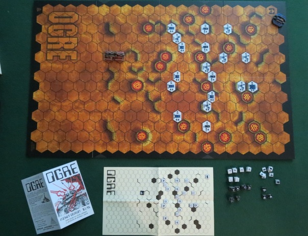 Note how all the Pocket/Original edition's counters could be carried by a single Designer's Edition Ogre.