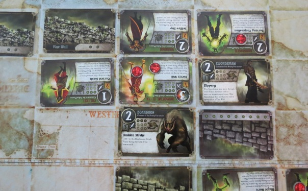 Summoner Wars protip: pay attention to unit abilities, even when they aren't in use. That can rapidly change.