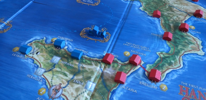 Carthage must leverage its naval superiority early if it hopes to win.