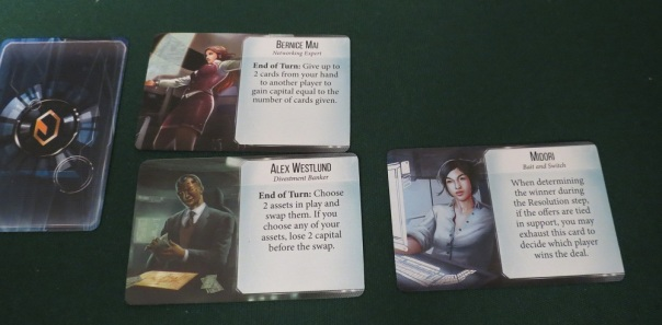 You can even hire Mr. White from Infiltration! Maybe even stuff from Netrunner too, I have no idea.