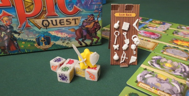 Nine of ten of the pics I snapped were just close-ups of kitted-out meeples. It's a good game for that.