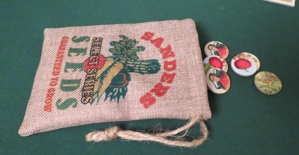 Cardboard seeds.