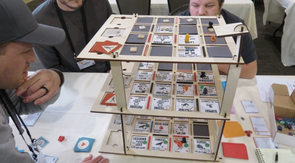 SALTCON SECRETS: This tower was rickety and doubled as a dexterity game every time we brushed against it. SALTCON SECRETS.