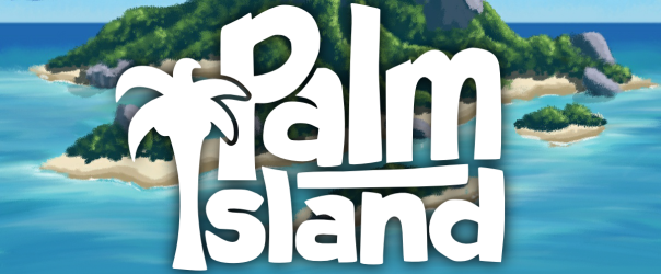 Because there are palm trees on it, unlike the other islands.