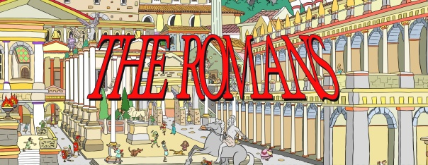 Say anything else about The Romans, this cartoon style is rad.
