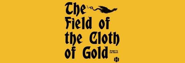 The alt-text of the header of the review of the Field of the Cloth of Gold.