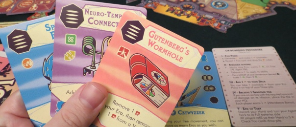 """""""Garish cards making light of my accomplishments. This is what my printing press has unleashed upon the world."""" —Gutenberg, right before traveling back in time to shoot himself"""