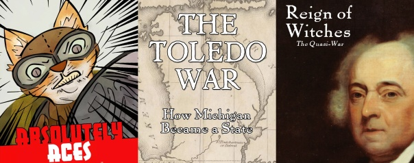 I hope I don't need to explain how appropriate it is that Toledo is the unfortunate sandwich between angry felines and snitty politicians.