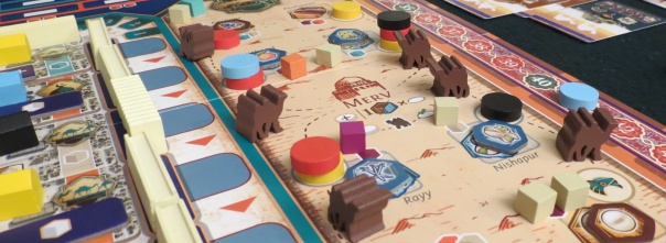 My private goal of most plays is to acquire a monopoly on the camel miniatures.