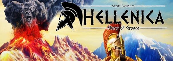 "Armor Guy: ""Let's play Hellenica!"" Volcano God: ""Dooooon't."""